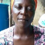 Fuseina in Ghana received a loan of $250 to buy more stock for her business selling cereal and beans.