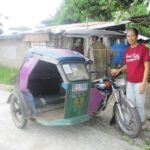 Lillian in the Philippines received a loan of $200 for vehicle maintenance and spare parts for her tricycle transportation business.