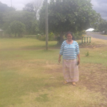 Maria in Samoa received a loan of $425 to buy a water tank, chemicals, seeds, soil, and a rake for her business growing and selling cabbages and eggplant.