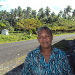 Raava in Samoa received a loan of $800 to buy banana tube and taro root seedlings, a wheelbarrow, water tank, hand gloves, rake, shovel, and chemicals for her business growing and selling taro and bananas.