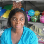 Rainah in Zimbabwe received a loan of $1050 to restock and expand her retail stationery business.
