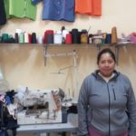 Our $1075 loan to Carmen in Ecuador will be used to buy fabric, thread, and buttons, and to hire a sewing assistant for her business making custom-made uniforms and clothing.