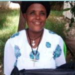 Asresie in Ethiopia received $245 from iZosh to fatten her sheep and goats.