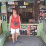Clarita in the Philippines received $100 from iZosh to buy bulk goods for her convenience store.