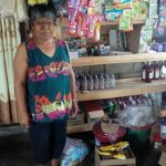 Erlinda in the Philippines received $375 from iZosh to buy products and groceries to sell in her convenience store.
