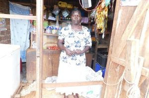 Esther in Uganda received $225 from iZosh to buy more inventory to sell in her retail shop.