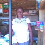 Grace in Kenya received $225 from iZosh to buy cooking fat, sugar, milk and bread for her retail business.