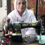 Yasmeen in Pakistan received $200 from iZosh to buy sewing supplies and machine oil for her family stitching business.