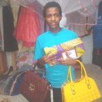 Our loan of $200 to Beatrice in Kenya will help her buy shoes, clothes, and handbags to sell in her retail business.