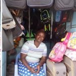 Our loan of $175 to Ester in Kenya will help her buy additional stock of safari and school bags for her retail business.