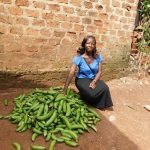 Our $225 loan to Juliet in Uganda will help her buy more products for her business selling bananas and second-hand clothing.