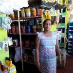 Our $325 loan to Maria in Colombia will help her buy paints, cement, and stucco to sell in her hardware store.