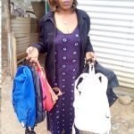 Our $225 loan to Mary in Kenya will help her buy more clothes and handbags to sell.