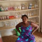 Our $575 loan to Millicent in Sierra Leone will help her buy medicines, cosmetics, and toiletries in her pharmacy.