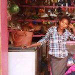 Our $225 loan to Prossy in Uganda will help her buy more clothes to sell in her clothing and shoe business.