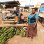 Our $225 loan to Rosemary in Uganda will help her buy more bananas to sell.