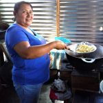 Our $125 loan to Santo-Cristina in El Salvador will help her buy vegetables, oil, and other ingredients to prepare snacks to sell in her bakery.
